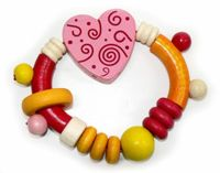 Hess rattle with heart
