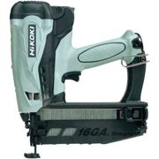 Hikoki Nt65Gb/J9Z 16G 2Nd Fix 2 X 1.5Ah Li-Ion Angled Gas Finish Nailer