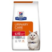 Hill's Prescription Cat Diet C/D Urinary Stress Chicken 4kg