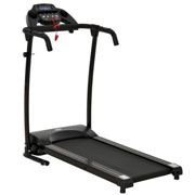 HOMCOM Electric Motorized Treadmill W/LCD Display-Black
