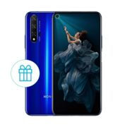 HONOR 20 Sapphire Blue 6GB+128GB free gift with band 5 + Flipcover+case