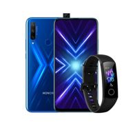 "Honor 9X Smartphone, Android, 4GB RAM, 6.59"", 4G LTE, SIM Free, 128GB"