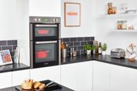 Hoover H-OVEN 300 HO9D337IN Integrated Double Oven in Stainless Steel A/A