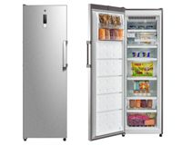 Hoover HFF 1862KM/N No Frost Tall Freezer - Stainless Steel