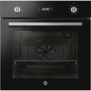 Hoover HOC3UB3158BI H-OVEN 300 8 Function Electric Built-in Single Oven With Hydrolytic Cleaning - Black
