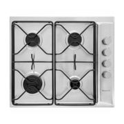 Hotpoint, PAN642IXH, Gas Hob in Stainless Steel