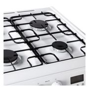 Hotpoint, HAG60P, Free-Standing Gas Cooker in Polar White