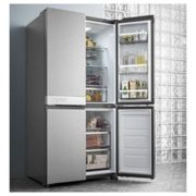 Hotpoint Day1 Active Quattro HQ9B1L American Fridge Freezer - Stainless Steel Effect - A+ Rated