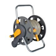 Hozelock 2 in 1 Assembled Reel+25m M/P+ fittings/nozzle