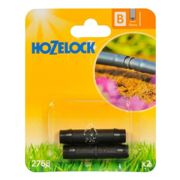 Hozelock 2768 Straight Connector 13mm (2 Pack)