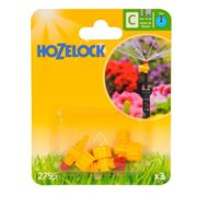 Hozelock 2795 Adjustable Micro Jet 360 Degree 4mm/13mm (2 Pack)