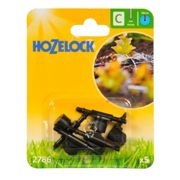 Hozelock In-Line Adjustable Mini Sprinkler, 4 mm - Pack of 5