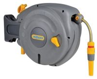 Hozelock - Mini Auto Reel - Wall Mounted Reel with 10m Hose