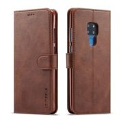 Huawei Premium Folio Case Cover - Brown - Mate 20 Lite
