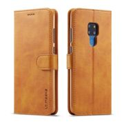 Huawei Premium Folio Case Cover - Tan - Mate 20 Lite
