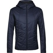 ICEBREAKER Mens Helix Hooded Jacket Midnight - Winter jacket - Blue - taille M