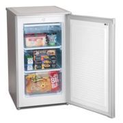 Iceking RZ83S E 50cm Under Counter Freezer in Silver 0 85m F Rated