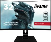 iiyama G-MASTER Red Eagle GB3266QSU-B1 32 WQHD HDR FreeSync VA 144Hz Curved Gaming Monitor