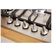 Indesit, THP751W/IX/I, Gas Hob in Stainless Steel