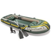 Intex Seahawk 4 Set Inflatable Boat with Oars and Pump 68351NP