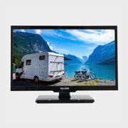 """Falcon 24"""" HD Travel TV with DVD, Freeview, Freesat, USB, - Black/NO, Black/NO One Size"""