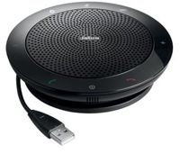 """Jabra SPEAK""""˘ 510 Speakerphone for UC & BT, USB Conference solution, 360-degree-microphone, Plug&Play, mute and volume button, Wideband, Bluetooth (up to 100 meters) Version B: incl. Smart Button activ"""