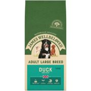 James Wellbeloved Adult Maintenance Duck and Rice Dog Food - Large Breed Dry - 15kg Bag