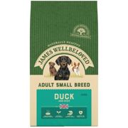 James Wellbeloved Adult Maintenance Duck and Rice Dog Food - Small Breed Dry - 1.5kg Bag