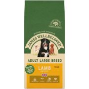 James Wellbeloved Adult Maintenance Lamb and Rice Dog Food - Large Breed Dry - 15kg Bag