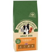 James Wellbeloved Turkey & Rice Adult Dog Food 2kg