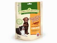 James Wellbeloved CrackerJacks Dog Treats - Turkey Dry - 225g Bag