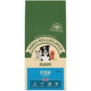 James Wellbeloved Puppy Dry Dog Food - Fish & Rice - 15kg