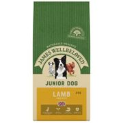 James Wellbeloved Junior Lamb and Rice Dog Food - Dry - 2kg Bag
