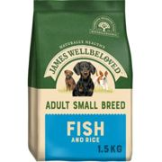 James Wellbeloved Ocean Fish & Rice Adult Small Dog Food