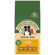 James Wellbeloved Senior Lamb and Rice Dog Food - Dry - 2kg Bag