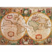 Jigsaw Puzzle - 1000 Pieces - Ancient Map