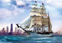 Jigsaw Puzzle - 500 Pieces - Sailing near Chicago