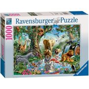 Jigsaw Puzzle - Adventures In The Jungle - 1000 Pieces