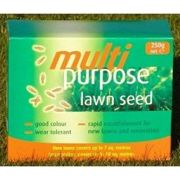 Johnsons Lawn Seed - Multi Purpose - 250g Carton Patch-Pack