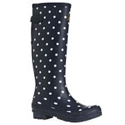 Printed Wellies With Adjustable Back Gusset