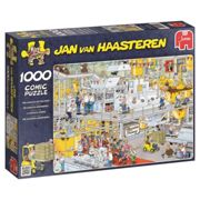 Jumbo 17452 Jan Van Haasteren - Chocolate Factory Jigsaw Puzzle (1000 Pieces)