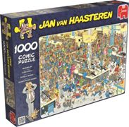 Jumbo 17466 Jan Van Haasteren Queued Up 100 piece Jigsaw Puzzle