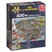 Jumbo 19012 Jan van Haasteren - Sea Port 500 Piece Jigsaw