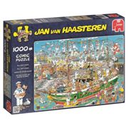 Jumbo 19014 Jan Van Haasteren - Tall Ship Chaos Jigsaw Puzzle (1000 Piece)
