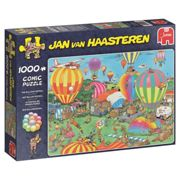 Jumbo 19052 Jan Van Haasteren - The Balloon Festival 1000 Piece Jigsaw Puzzle