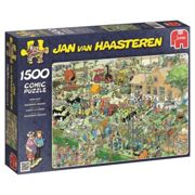 Jumbo Jan Van Haasteren 17077 - Farm Visit Jigsaw Puzzle (1500 Pieces)