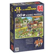 Jumbo Jan van Haasteren 19020 - Chaos On The Field (150 Pieces) Jigsaw Puzzle