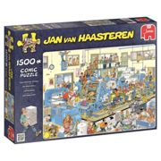 Jumbo Jan Van Haasteren 19039 - The Printing Office 1500 piece Jigsaw Puzzle
