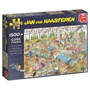 Jumbo Jan Van Haasteren 19077 - Clash Of The Bakers 1500 Piece Jigsaw Puzzle