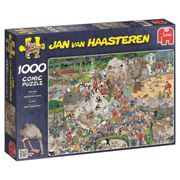 Jumbo Puzzle Jan Van Haasteren 01491 - The Zoo 1000 Piece Jigsaw Puzzle